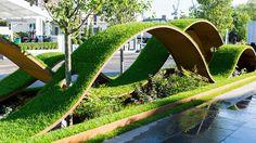 The World Vision Garden. Simboliza los viajes de la vida
