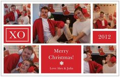 Our first post and first couples Christmas card - Imgur