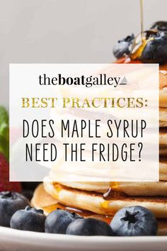 Real maple syrup will mold if not stored properly. Learn the correct way to store it for the longest life and best flavor. Cooking Tips, Cooking Recipes, Real Maple Syrup, Types Of Food, Food Storage, Helpful Hints, Food To Make, Boat, Store