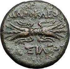Syracuse Agathocles King of Sicily 295BC Artemis Thunderbolt Greek Coin i55535