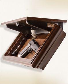 hiding in plain sight furniture to hide your guns. Black Bedroom Furniture Sets. Home Design Ideas