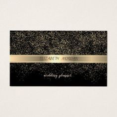 Cyan green black abstract beyond aces business card elegant stylishblack gold confetti business card unusual diy cyo customize special gift idea personalize negle Images