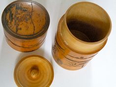 Great Patina Bamboo Container Box by whatMARLAlikes on Etsy, $30.00