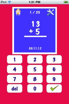 My Math Flash Cards App ($0.00) My Math Flash Card App is for mastering basic elementary math facts. Its an easy to use and customizable application to enable focused learning.    Some of the salient features are    - Addition, Subtraction, Multiplication and Division Cards    - Randomly generated Flash Cards