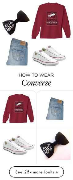 """""""W is for White Converse"""" by lindsaythebrave on Polyvore featuring Converse, Abercrombie & Fitch, converse and Alphabetofprep"""