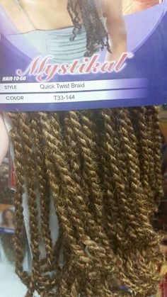 ... Pre-Twisted Braids on Pinterest Crochet braids, Marley braids and