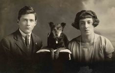 Paws galore: vintage photos of Fido and friends – in pictures Vintage Pictures, Old Pictures, Portraits Victoriens, Photos With Dog, Nice Photos, Vintage Dog, Old Dogs, Vintage Photographs, The Guardian