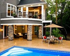 https://www.facebook.com/leovandesign #LeovanDesign: #Patio #Design and #Décor  #Ideas #Backyard #deck #balcony #tips #pool