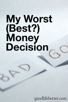 Want to make better money decisions? It's important to identify the factors you can control. Ways To Save Money, Money Tips, Money Saving Tips, How To Make Money, Managing Money, Living Below Your Means, Get Out Of Debt, Frugal Tips, I Am Bad
