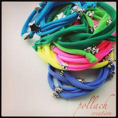 Lycra bracelets