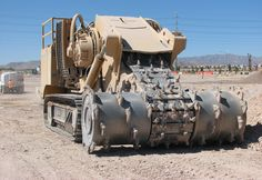 The mechanical trencher has a strong role to play in machinery - Products And Services Heavy Construction Equipment, Construction Machines, Heavy Equipment, Armored Truck, Mining Equipment, Engin, Heavy Machinery, Armored Vehicles, Military Aircraft