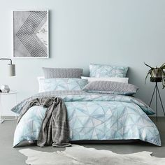 Rebecca Judd Loves Home Republic Cumulus Quilt Cover Set, doona cover, bedlinen