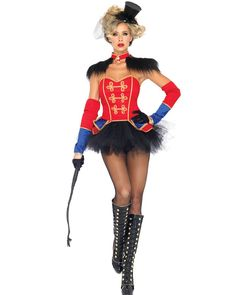 Ring Mistress Womens Costume | CLOWNS AND CIRCUS