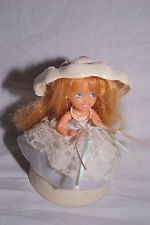 Vintage 1991 Tonka Kenner Cupcake Princess Parfait Bonnie Bride Doll Ships Free!