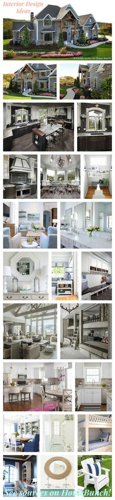 Interior Design Ideas. Weekly series with the newest interior design ideas on Home Bunch. #InteriorDesignIdeas
