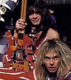 David Lee Roth & Eddie Van Halen 1984
