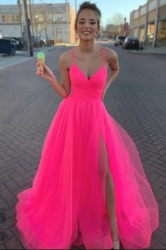 🔥🔥🔥 Hot pink prom dress Related posts:Plus Size Prom Dresses, Charming A Line Sweetheart Spaghetti Straps Slit Pink Long Prom Dresses, Bea.A-line Tulle Lace Applique Grey Long Prom Dresses, 15250 from AthenabridalRed log prom. Homecoming Dresses Long, Pretty Prom Dresses, Simple Prom Dress, Pink Prom Dresses, Tulle Prom Dress, Cheap Prom Dresses, Formal Evening Dresses, Graduation Dresses, Dress Long