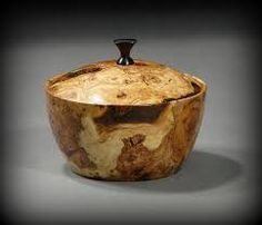 Image result for turning wooden lidded boxes