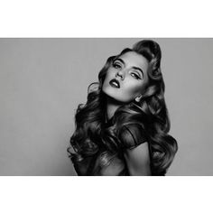 Old Hollywood hair inspiration