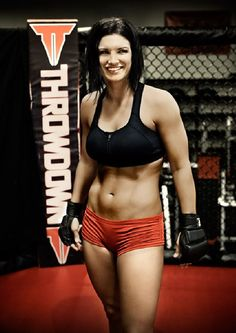 I know she doesn't fight anymore but Gina Carano is still popular with female MMA fans.