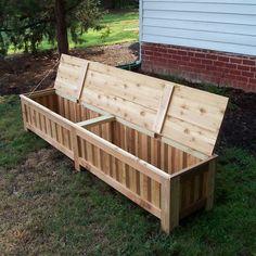 Keter Rockwood 150-Gallon Outdoor Plastic Storage Box | Plastic storage Storage boxes and Storage & Keter Rockwood 150-Gallon Outdoor Plastic Storage Box | Plastic ...