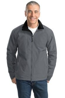 Port Authority® - Challenger® II Jacket. All the weather protection you love about our classic Challenger Jacket—now with up-to-the-minute details like a two-way zipper, hidden zippered chest pocket and open hem with drawcord and toggles for adjustability -Arizona Cap Company - (480) 661-0540 Custom Printed & Embroidered. Visit our website for the colors available and the price