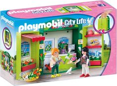 Big deal PLAYMOBIL Flower Shop Play Box Building Kit discover this and many other bargains in Crazy by Deals, we bring daily the best discounts for you Play Mobile, Box Building, Building Toys, Playmobil City, Must Have Travel Accessories, Star Wars Shop, Beautiful Flower Arrangements, Window Boxes, Funko Pop Vinyl