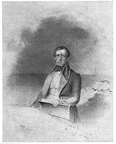 Fitz Henry Lane (portrait by Robert Cooke, 1835) (1804-1865) was an American painter and printmaker of a style that would later be called Luminism, for its use of pervasive light.