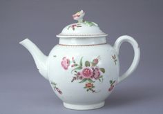 1765-1770  ENGLISH, WORCESTER    Soft paste porcelain, Overall h.: 5 11/16 in., Gift of Mrs. Charles E. Stuart, 79.119,