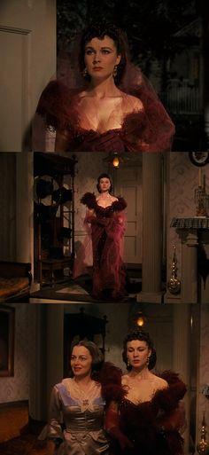 Figurino: … E o Vento Levou With the Wind Victor Flaming Walter Plankett Vivian Leigh Scarlett O'Hara