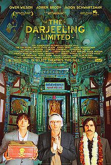 THE DARJEELING LIMITED (2007): Wes Anderson reimagines the all-American family road trip as a rail journey across India. Set on a cramped train rattling across the subcontinent, Darjeeling juxtaposes the claustrophobia of travel against the backdrop of Rajasthan's vast open spaces. Anderson's love of strange and beautiful objects is very much at home in the colorful, busy aesthetic of India; but the movie's most arresting visuals come in the form of barren desert and mountain landscapes.