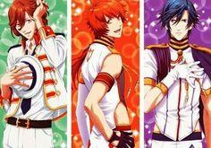Reiji, Otoya, and Tokiya <3