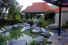 One of the Lake Spa pools at the Polynesian Spa.