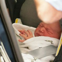 Close-up of the adorable Royal Baby, Prince George Alexander Louis #royalbaby #princegeorge