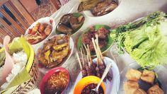 'Ayam penyet' set... @subang . Jawa barat - indonesia