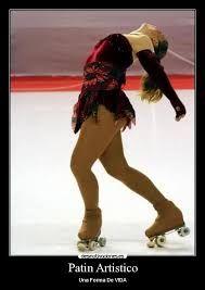 Resultado de imagen para patin artistico sobre ruedas frases