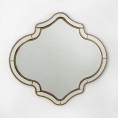 Espelho Ouro Antigo _ L89 x P2 x A80cm _ 127.36772/00