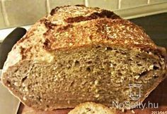 (A bögrénk dl-es. Sans Gluten Ni Lactose, Sin Gluten, Recetas Monsieur Cuisine Plus, Sesame, Kiss The Cook, Hungarian Recipes, How To Make Bread, Bread Recipes, Banana Bread
