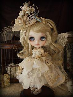 little cream dress by Milk Tea