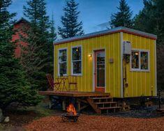 Tiny House Village, Building A Tiny House, Tiny House Cabin, Tiny House Living, Rv Living, Farm House, Tiny Houses For Rent, Tiny House On Wheels, Tiny House Australia