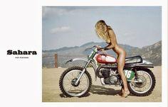 Image result for nude model on motorbike