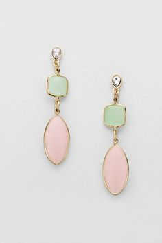 Aggie Earrings in Aspen Quartz | Women's Clothes, Casual Dresses, Fashion Earrings & Accessories | Emma Stine Limited