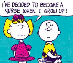 Peanuts nurse