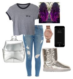 """""""Untitled #66"""" by onedirectionfangirl94 ❤ liked on Polyvore featuring Frame Denim, UGG Australia, Kin by John Lewis and GUESS"""