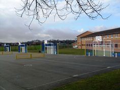 MUGA for Schools, Multi-Use Games Areas, AMV Playgrounds.