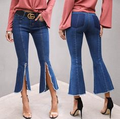 Fashion Bell Bottoms, Bell Bottom Jeans, Pants, Clothes, Fashion, Trouser Pants, Outfits, Moda, Clothing