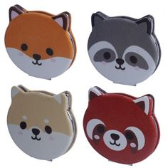 Our range of compact mirrors are made from polyurethane and a leatherette fabric outer, with a metal and glass inner, and are printed with fun and colourful designs across a range of themes, that will appeal to boys and girls, young and old. Single item supplied. Dimensions: Height 7cm Width 7.5cm Depth 1cm (approx 3 x 3 x 0.5 inches) Gifts For Mum, Little Gifts, Compact Mirror, Wooden Letters, Unusual Gifts, Novelty Gifts, One And Only, Colourful Designs, Color Inspiration