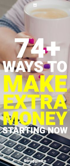 Looking for ways to make extra money? Here are over 70 ways to make extra money this year so you can start to build up your wealth. Earn More Money, Ways To Earn Money, Earn Money From Home, Make Money Fast, Money Tips, Money Saving Tips, Make Money Online, Money Hacks, Money Savers