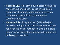Resultado de imagen para HEBREOS 9:23