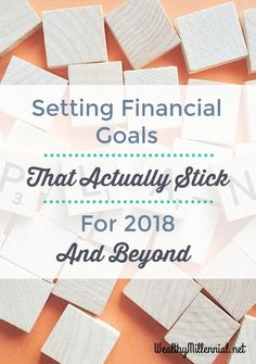 Tired of falling short on your goals?Learn how to set financial #goals that actually stick.
